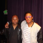 CJ & Ron B George Dukes Drummer at Jazz Alley