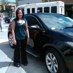 Shanika Peacock with Acura Motors