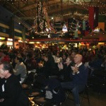 Crowd likes CJ w GSB at Winterfest
